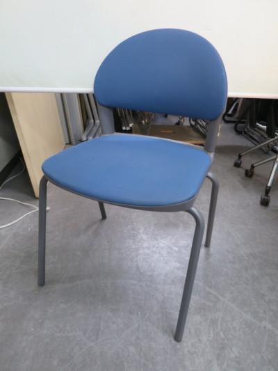 コクヨ スタッキングチェア6脚セット 中古 オフィス家具 ミーティングチェア