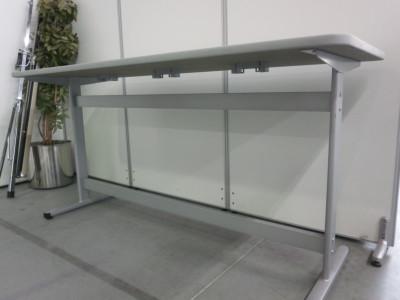 コクヨナーステーブル2000000024947フレームキズ有/エッジ汚れ少々有 詳細画像3