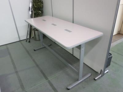 コクヨナーステーブル2000000024947フレームキズ有/エッジ汚れ少々有 詳細画像2