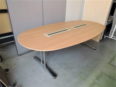 オカムラ インターレイス2400ミーティングテーブル 中古|オフィス家具|ミーティングテーブル