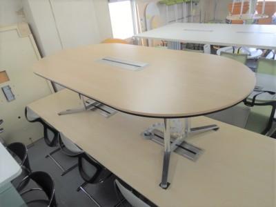 オカムラ 2400ミーティングテーブル 中古|オフィス家具|ミーティングテーブル
