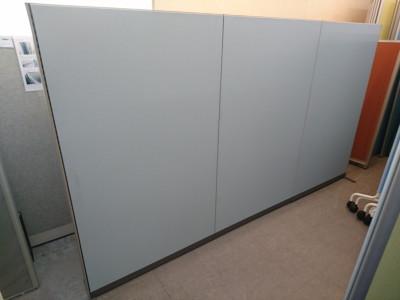 コクヨ 3連自立パーテーション 中古|オフィス家具|パーテーション|自立式