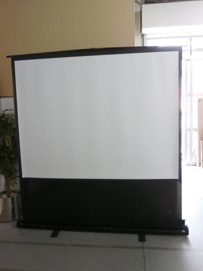 イズミコスモ プロジェクタースクリーン  中古|オフィス家具|パーテーション