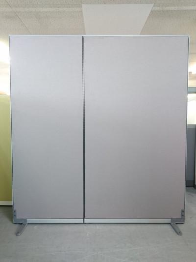 コクヨ 2連自立パーテーション 中古|オフィス家具|パーテーション|連結式