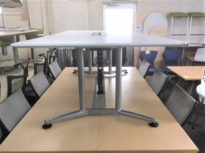 オカムラ ミーティングテーブル 2000000026060天板・脚キズ有/搬入注意詳細画像2