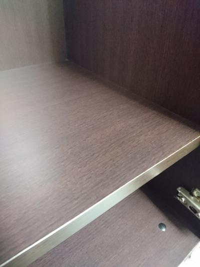 イトーキ役員ロッカー2000000026434下部ハガレ/木製/カギ2本付/ブラウン系色/縦長鏡付(幅80mm)詳細画像3