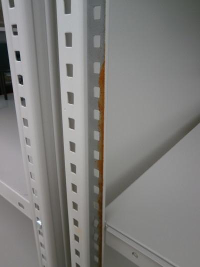 コクヨ中軽量棚2000000017909フレームサビ有/現状渡し詳細画像3