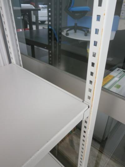 コクヨ中軽量棚2000000017909フレームサビ有/現状渡し詳細画像2