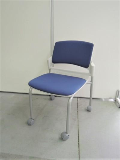 ウチダ(内田洋行) スタッキングチェア6脚セット 中古 オフィス家具 ミーティングチェア