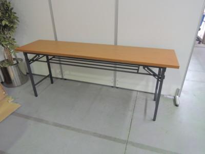 折畳会議テーブル6台セット  中古|オフィス家具|ミーティングテーブル