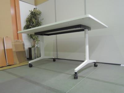 コクヨジュートミーティングテーブル2000000026574T字脚/キャスター付/ラウンドエッジ詳細画像3