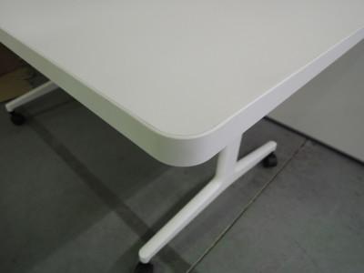 コクヨジュートミーティングテーブル2000000026574T字脚/キャスター付/ラウンドエッジ詳細画像2