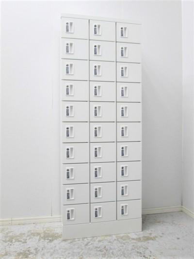 SEIKO FAMILY(生興) 30人用小物入れロッカー 中古|オフィス家具|ロッカー