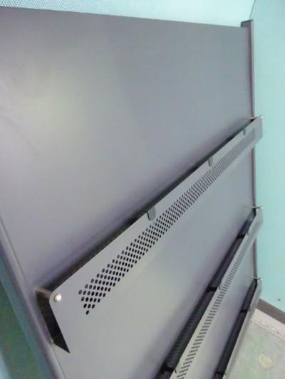 イトーキパンフレットラック2000000026738アジャスター付/A4/4列3段詳細画像4
