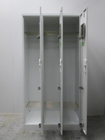 コクヨ3人用ロッカー2000000027050カギ各2本付詳細画像2