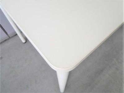 イトーキミーティングテーブル2000000027129天板キズ有/木目/1本脚詳細画像2