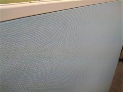 イナバ2連自立パーテーション2000000018603エンドパーツなし/汚れ少々/片面安定脚2ヶのみ 。片面安定脚は2コとなりますが、十分安定します。詳細画像2