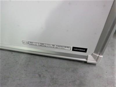 ウチダ(内田洋行)1800壁掛けホワイトボード2000000027138吊金具4ヶ付/暗線入り/ホーロー詳細画像3