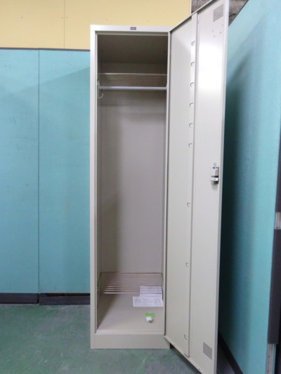 ウチダ(内田洋行)1人用ロッカー2000000026951カギ2本付 メーカー:ネオグレイ詳細画像2