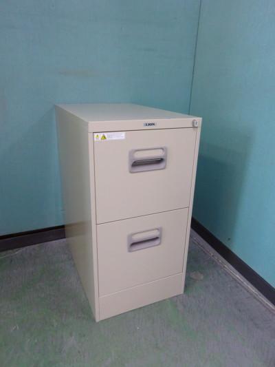 ライオン A4 2段ファイルキャビネット 2000000026685