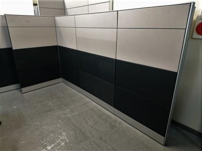 イトーキ 4連L型パーテーション  中古|オフィス家具|パーテーション