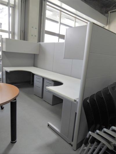 ウチダ(内田洋行) デスクシステムセット 中古|オフィス家具|事務机
