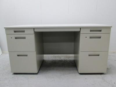 コクヨ 1400両袖デス 中古|オフィス家具|事務机