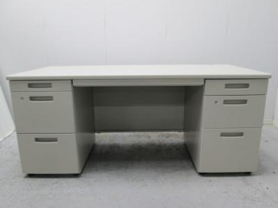 コクヨ 1600両袖デスク 中古|オフィス家具|事務机