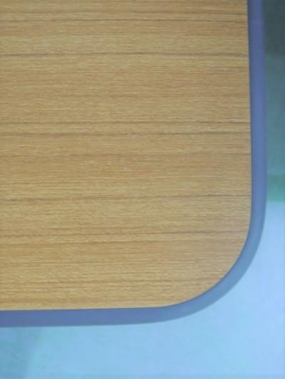コクヨミーティングテーブル2000000028977エッジキズ有/ソフトエッジ/T字脚 メーカー色:チーク詳細画像2