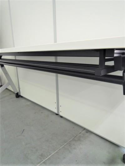 ウチダ(内田洋行)平行スタックテーブル2000000028943幕板なし/棚板付詳細画像3