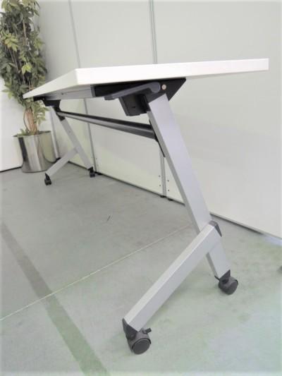 ウチダ(内田洋行)平行スタックテーブル2000000028944幕板なし/棚板なし詳細画像4