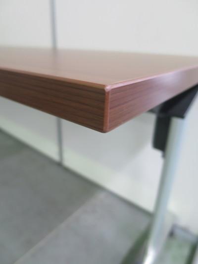 ウチダ(内田洋行)サイドスタックテーブル2000000028724幕板なし/棚板なし詳細画像3