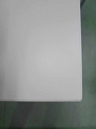 ウチダ(内田洋行)平行スタックテーブル2000000028726幕板なし/棚板なし メーカー色:ピュワホワイト詳細画像2