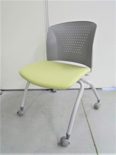 アイコ スタッキングチェア6脚セット 中古|オフィス家具|ミーティングチェア|スタッキングチェア