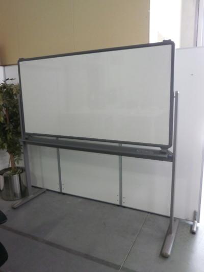 コクヨ 1800脚付ホワイトボード  中古|オフィス家具|脚付きホワイトボード脚付き|両面