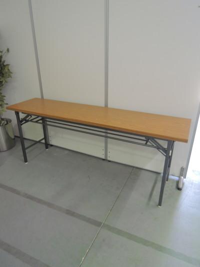ライオン 折畳会議テーブル  中古|オフィス家具|ミーティングテーブル