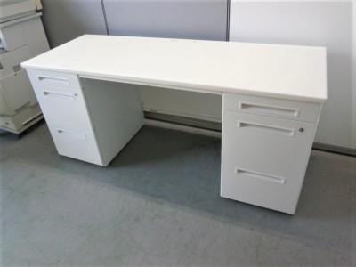 ライオン 1600両袖デスク 中古|オフィス家具|事務机