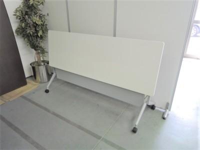 コクヨリーフラインスタックテーブル5台セット2000000029698ホワイト詳細画像2