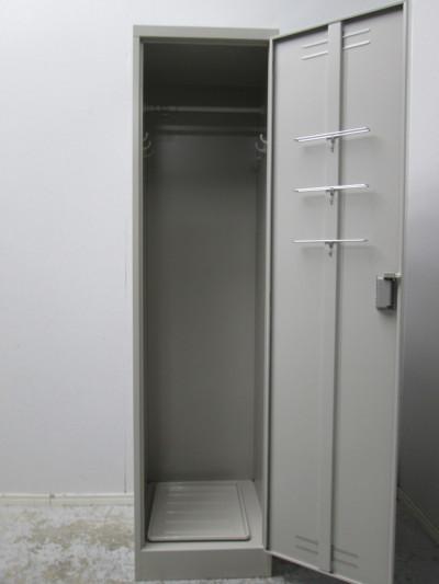 コクヨ掃除用具ロッカー2000000029686ナチュラルグレー詳細画像3