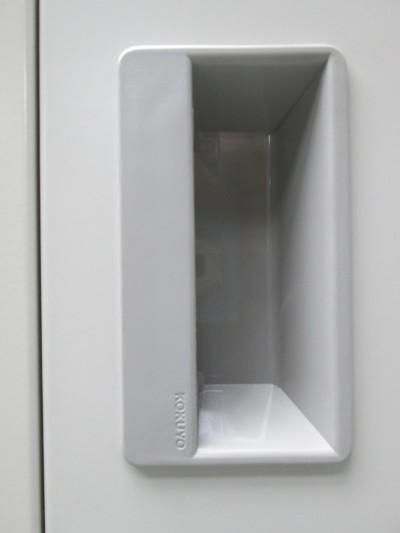 コクヨ掃除用具ロッカー2000000029686ナチュラルグレー詳細画像2