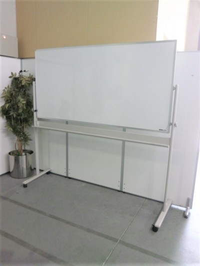 イトーキ 1800脚付ホワイトボード 中古|オフィス家具|ホワイトボード|脚付きホワイトボード