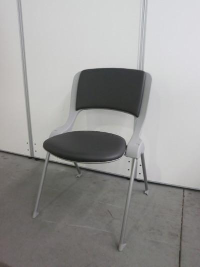 ウチダ(内田洋行) スタッキングチェア5脚セット 中古|オフィス家具|ミーティングチェア