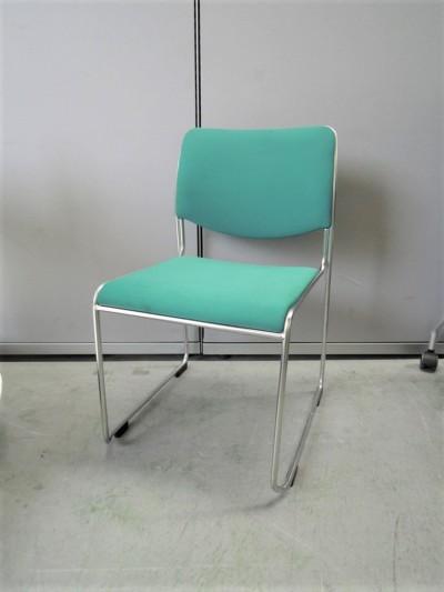 コクヨ スタッキングチェア6脚セット 中古|オフィス家具|ミーティングチェア|スタッキングチェア