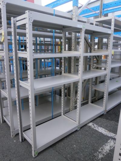 コクヨ 2連中量棚 中古|オフィス家具|書庫|軽量棚