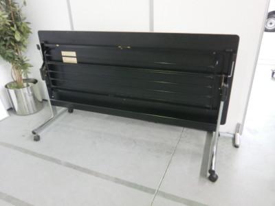 オカムラサイドスタックテーブル 2000000032085キズ有/脚カバーキャップ欠品詳細画像4