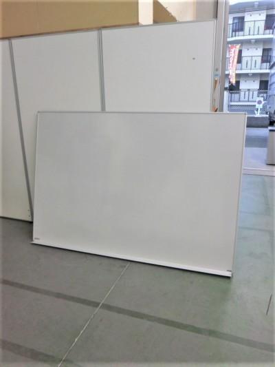 ニチガク 1800壁掛ホワイトボード 中古|オフィス家具|ホワイトボード