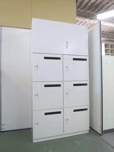 ウチダ(内田洋行)  6人用パーソナルロッカー 中古|オフィス家具|ロッカー