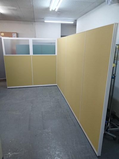イトーキ 5連L型パーテーション  中古|オフィス家具|パーテーション