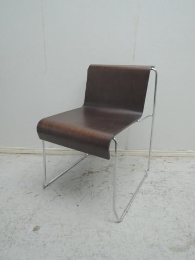 Steel Chair スタッキングチェア4脚セット 中古|オフィス家具|ミーティングチェア