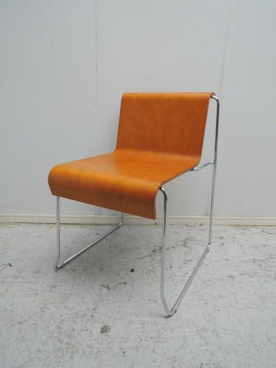 Steel Chair  スタッキングチェア7脚セット 中古|オフィス家具|ミーティングチェア
